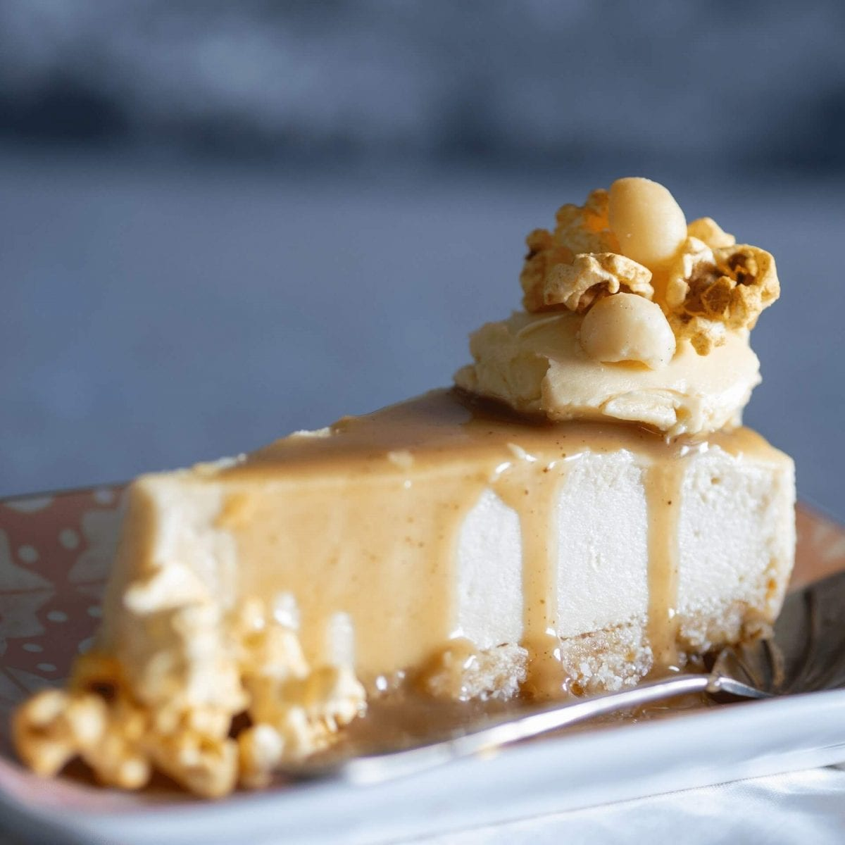Cheesecake with Maple Butter