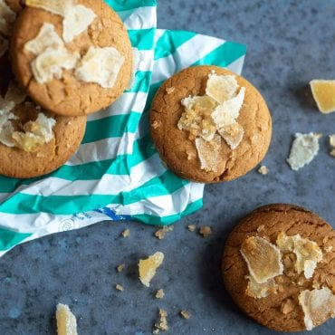 Six-Spice Ginger Cookies